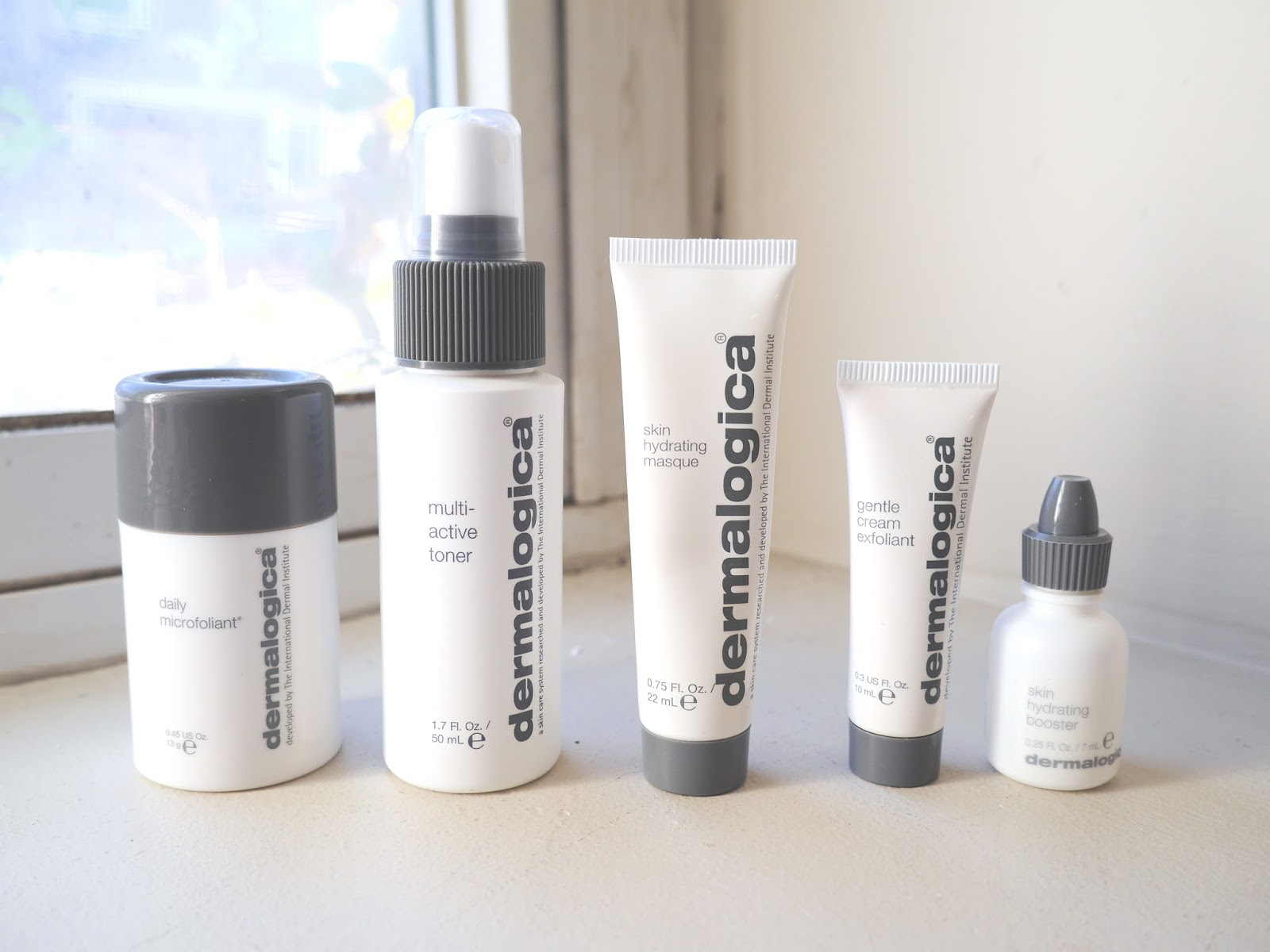 dermalogica daily microfolient multi-active toner skin hydrating masque gentle cream exfoliant skin hydration booster review