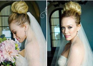 Style Rambut Pernikahan Selebriti