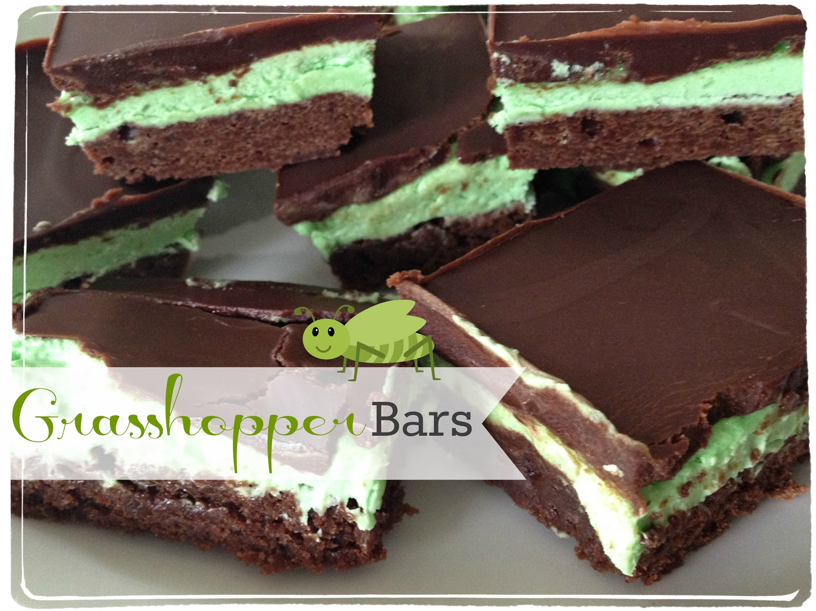Grasshopper Bars Recipe — Dishmaps