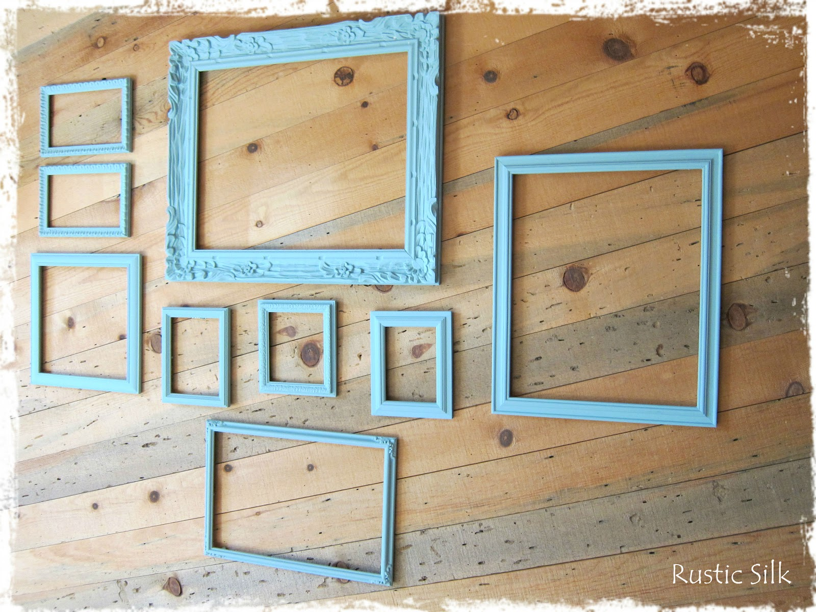 Rustic Silk: Chalk Paint: Cleaning and Painting