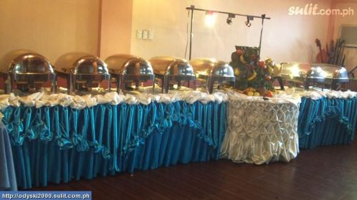Antipolo national high school batch 2003 sample photos of color motif - Buffet table integree ...