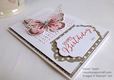 Stampin' Up! Watercolor wings card
