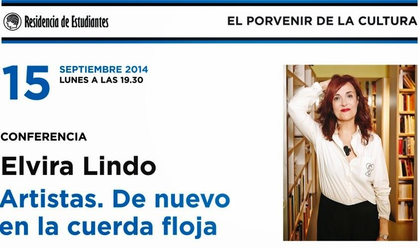 Elvira Lindo. Artistas. De nuevo en la cuerda floja