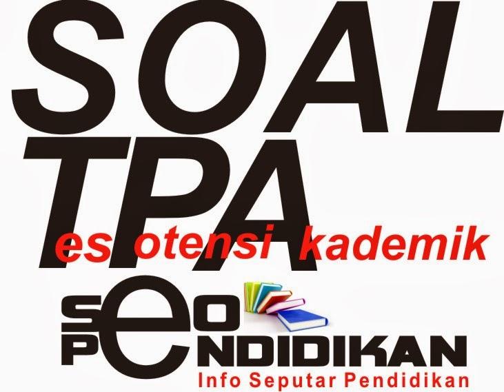 Contoh Tes Potensi Akademik (TPA) + Kunci Jawaban - Analogi (1)