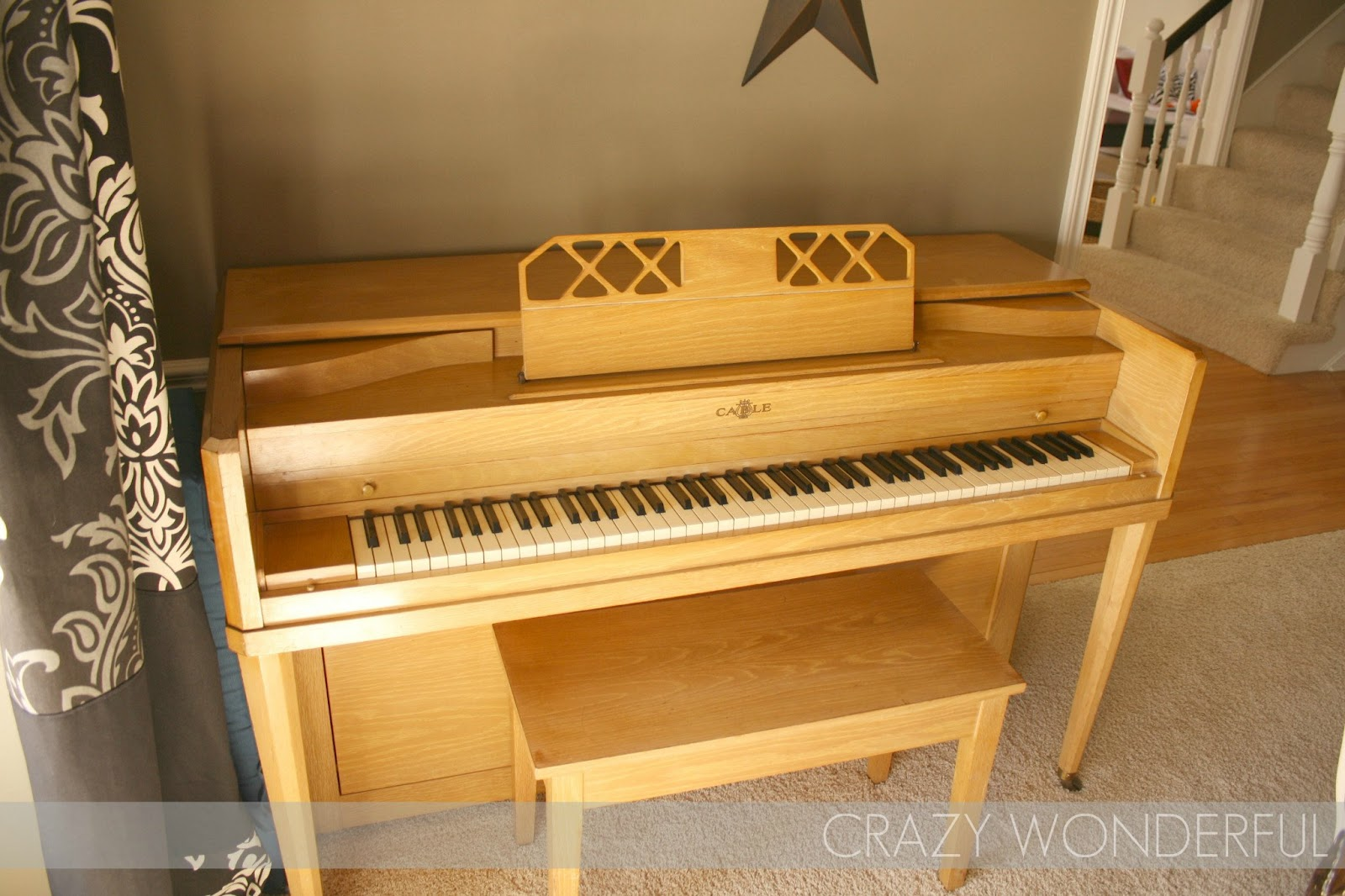if you\'re gonna refinish a piano... - Crazy Wonderful