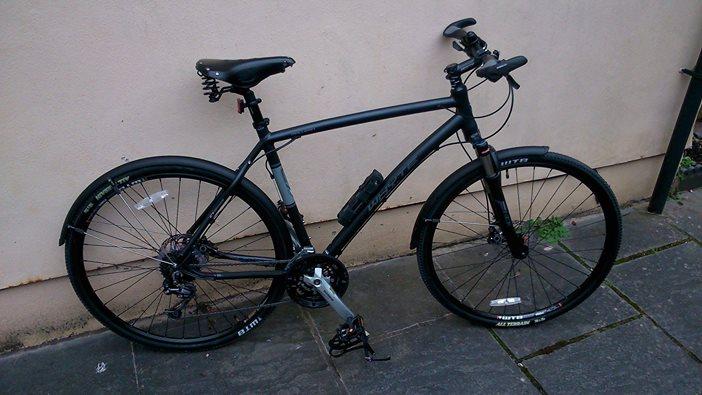 Marco S Whyte Malvern And Giant Hybrid Stolen Bristol Bikes