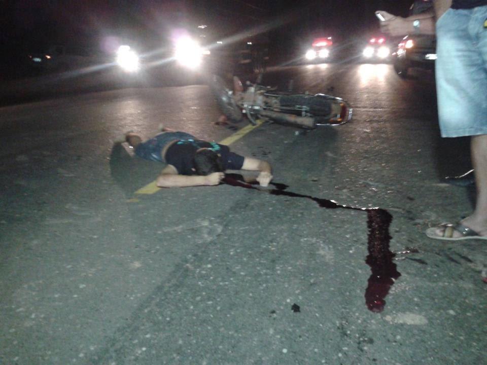 Jovem é vítima fatal de acidente na BR 010