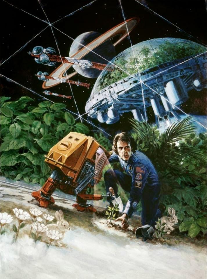 space1970 silent running 1972 poster art