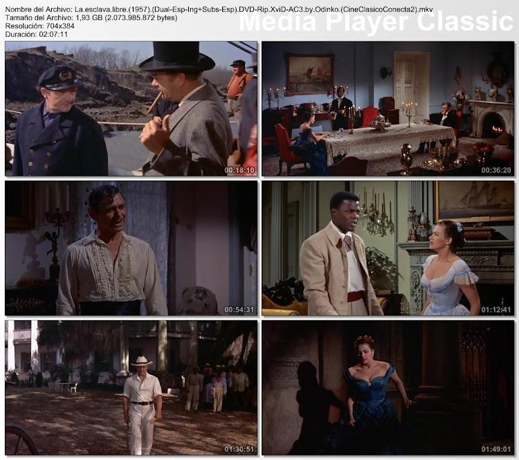 Capturas de pantalla: La esclava libre | 1957 | Band of Angels