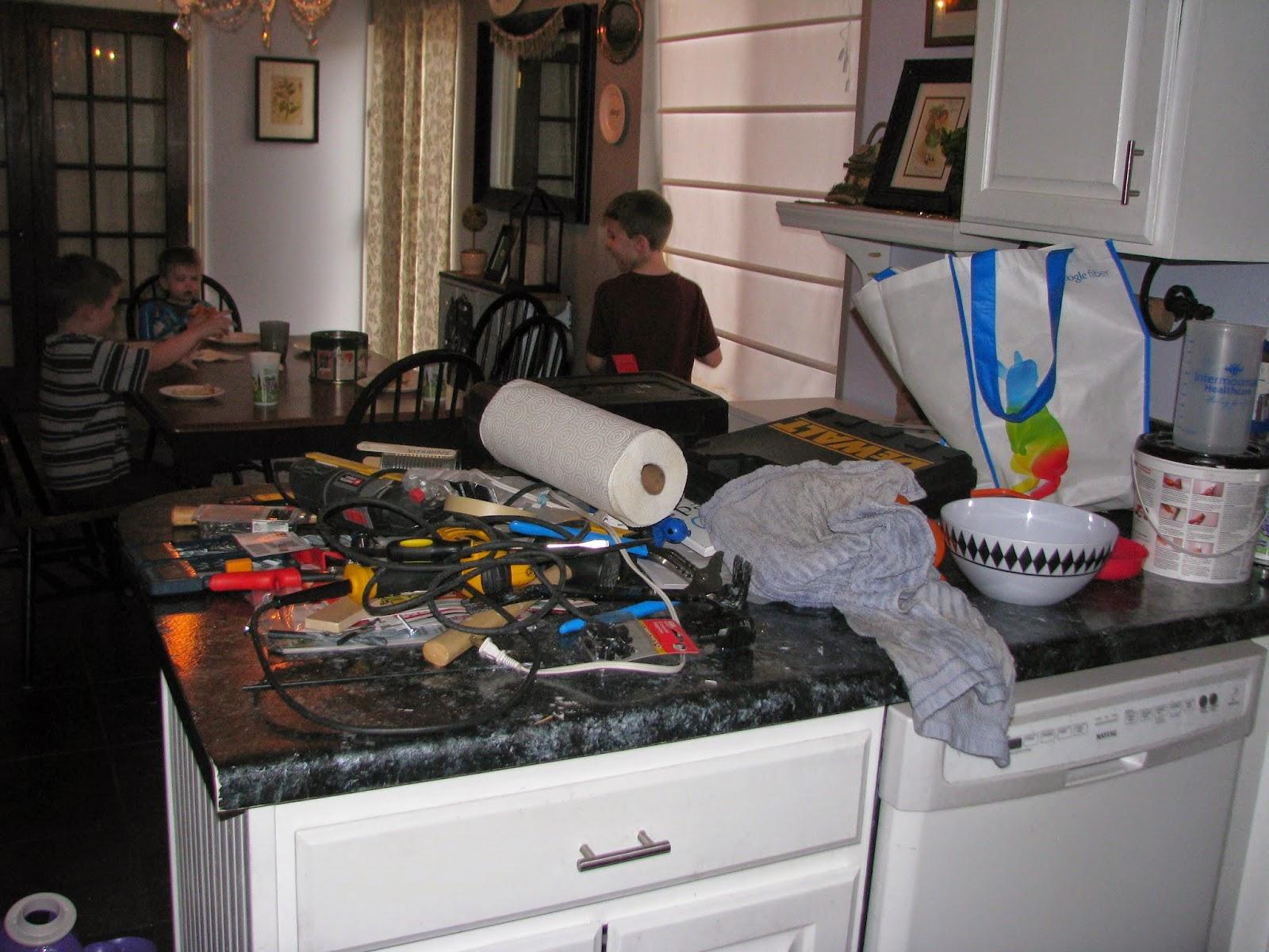 My So-Called DIY Blog: Painted Countertop (Giani Granite) Review - 2.5 ...