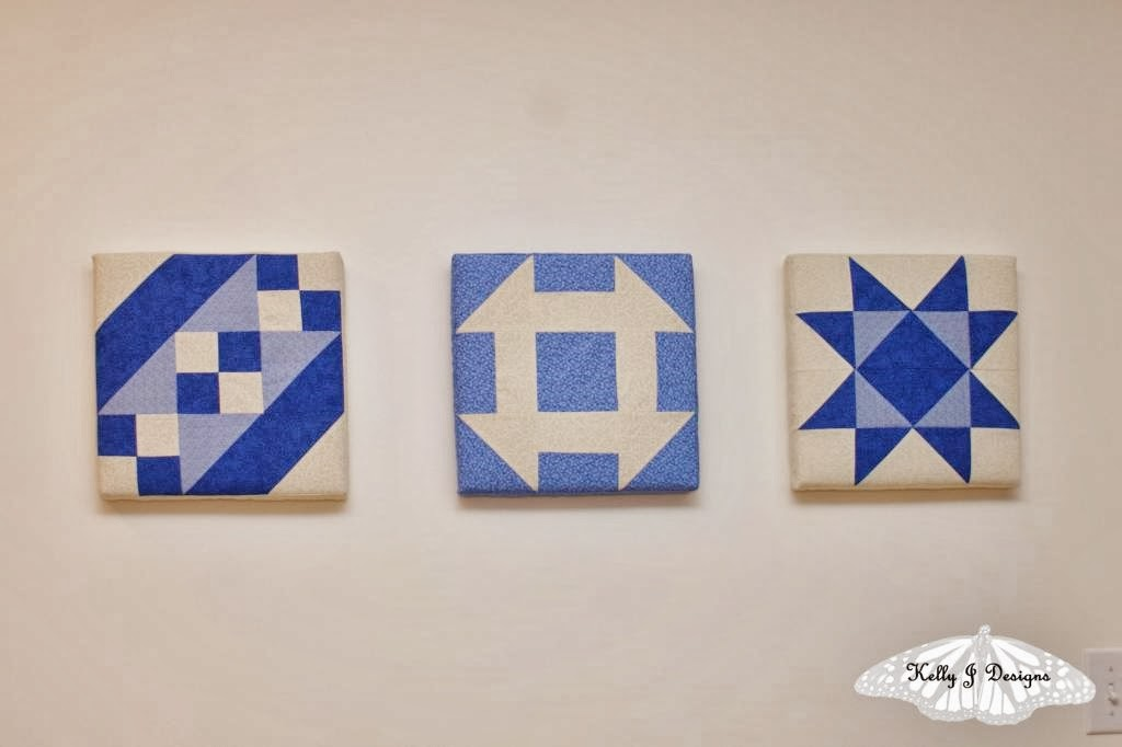http://kellyjdesigns.blogspot.com/2014/02/mounted-quilt-blocks-how-to.html