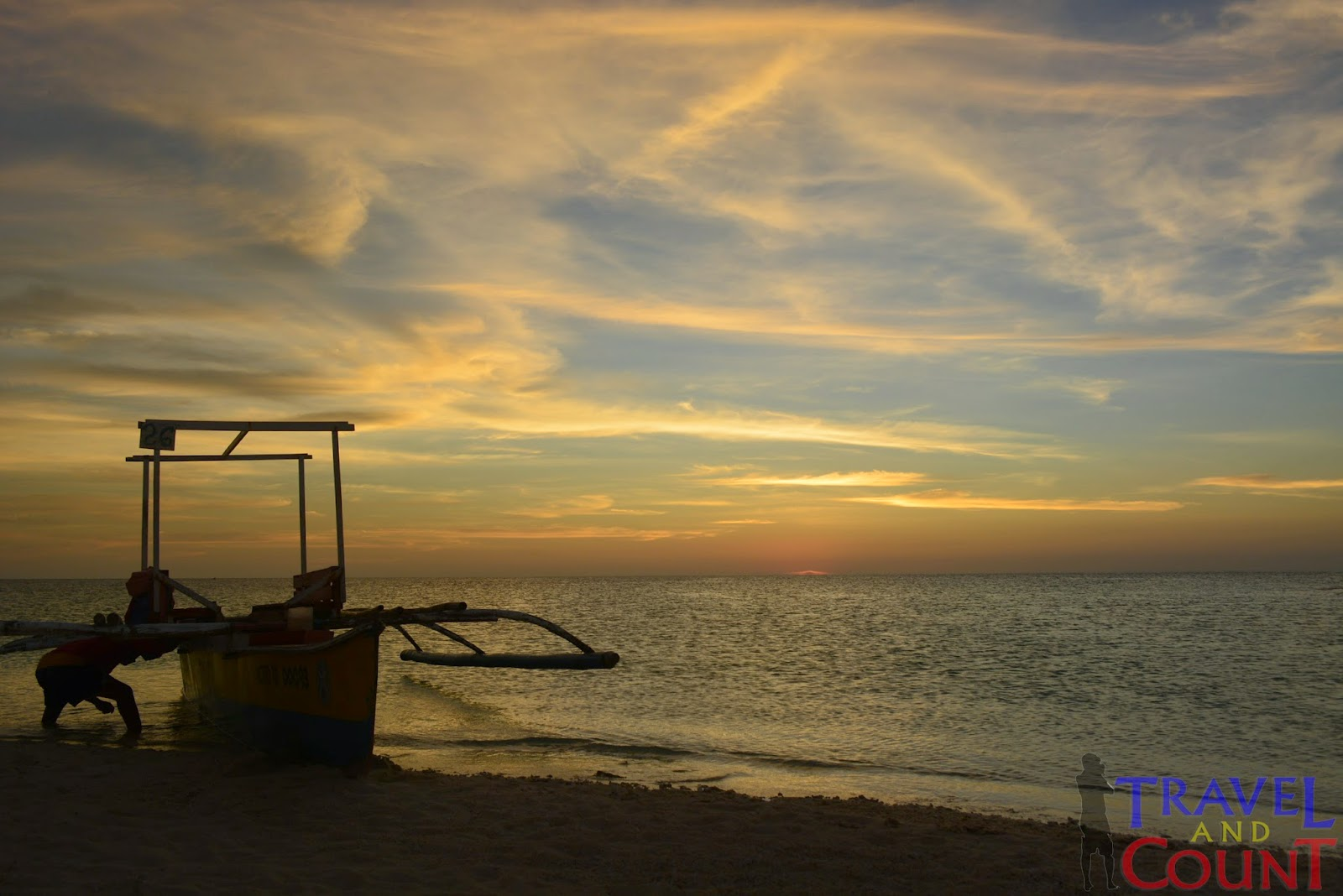 Dawn view at White Island Camiguin
