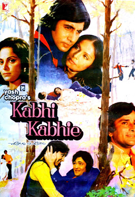 Poster Of Bollywood Movie Kabhi Kabhie (1976) 300MB Compressed Small Size Pc Movie Free Download At World4ufree.Org