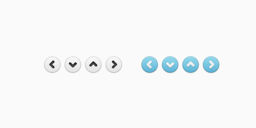 Free Simple Arrows Web Buttons Download
