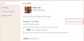 follow blog-stop following blog