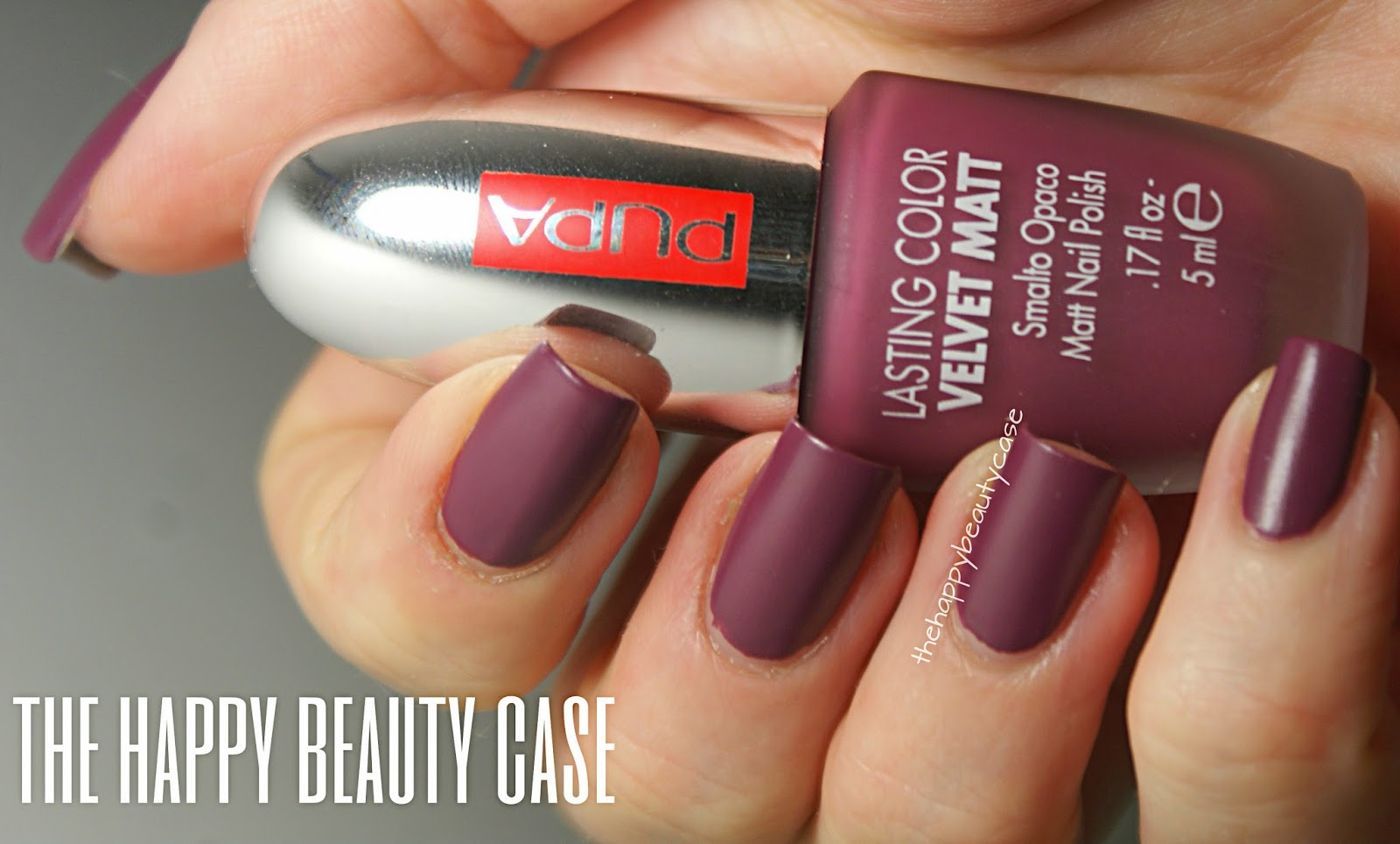 The Happy Beauty Case: Pupa Lasting Color Velvet Matt Swatch and ...