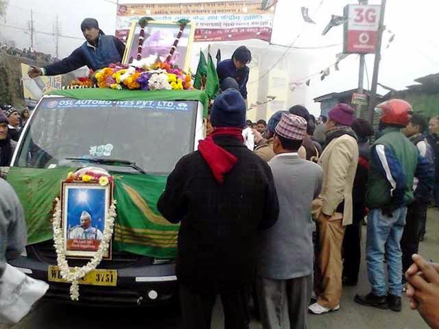 Subash Ghisingh dead body in kurseong