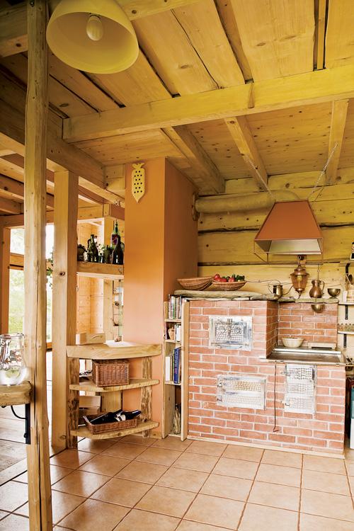 Estilo rustico cabana de madera en el bosque - Cavanas de madera ...