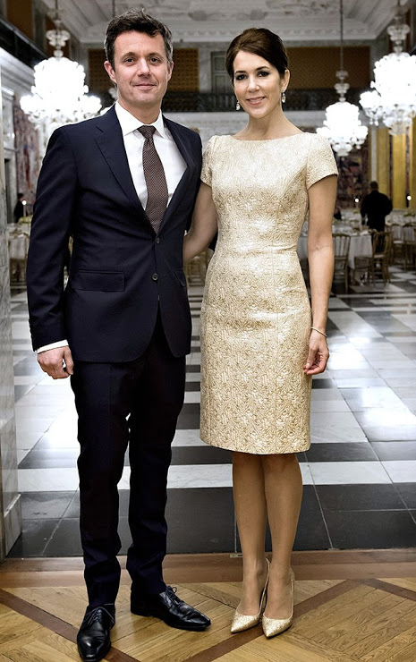 Princess Mary And Prince Frederik Held A Dinner At Christiansborg Palace