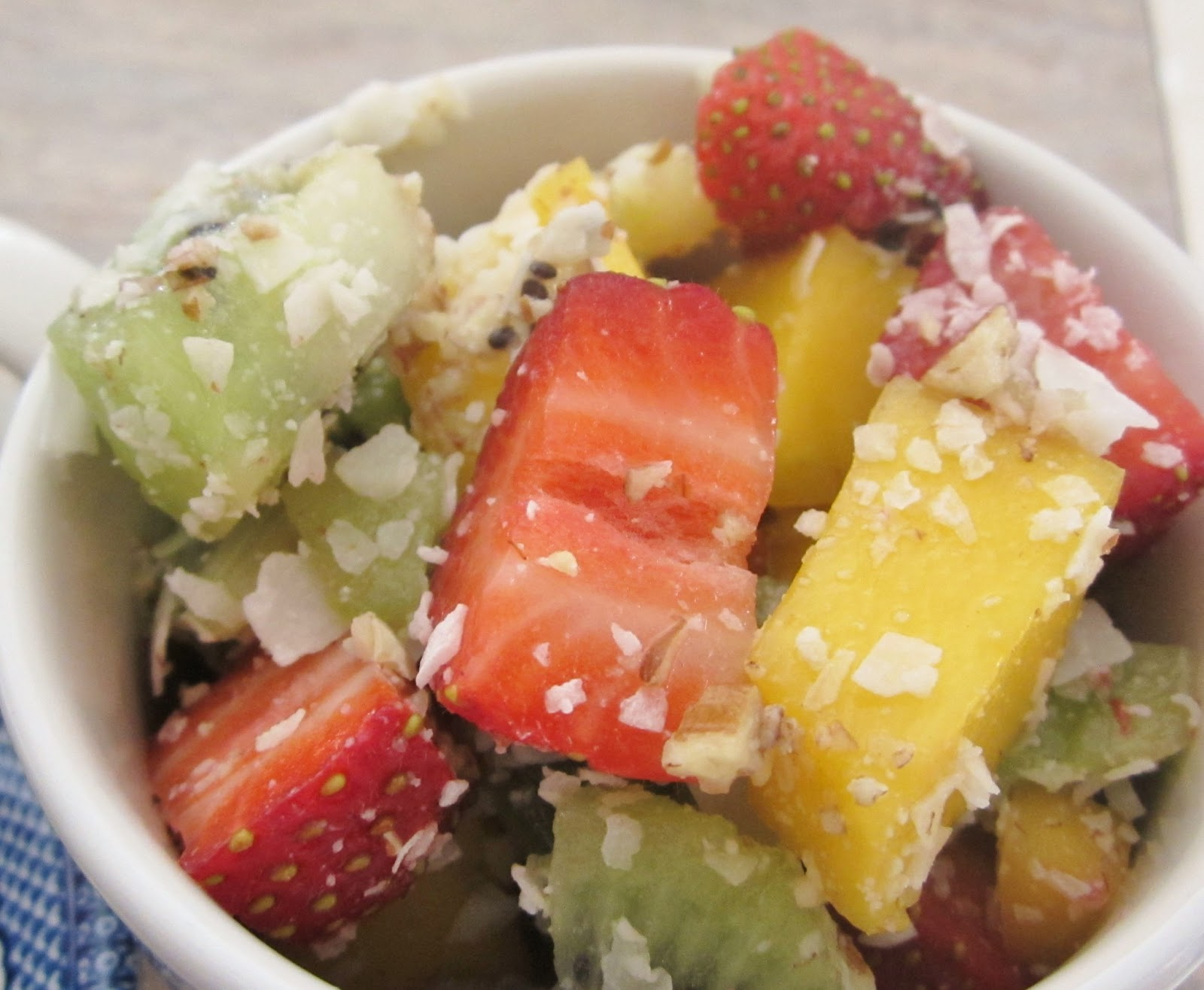 Tropical Fruit Salad — Counting All Joy