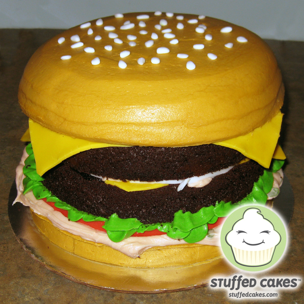 Stuffed Cakes: In-N-Out Burger Cake