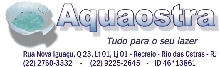 AQUAOSTRA EQUIPAMENTOS DE LAZER