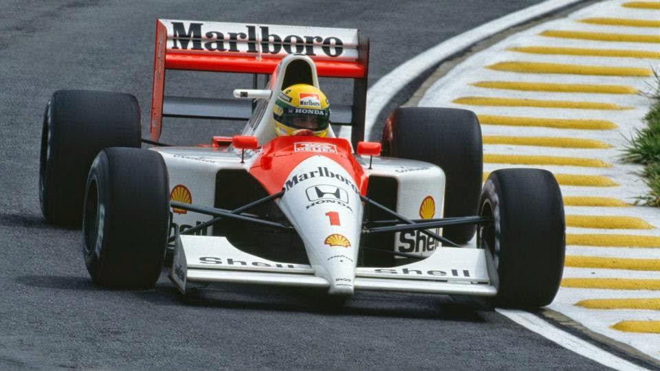 1991 Carro Ayrton Senna Fórmula 1 Mclaren