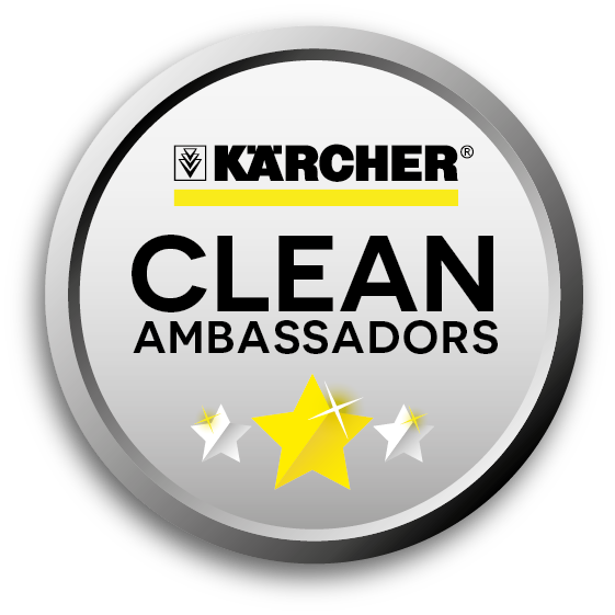 Pleased to be a Karcher Ambassador