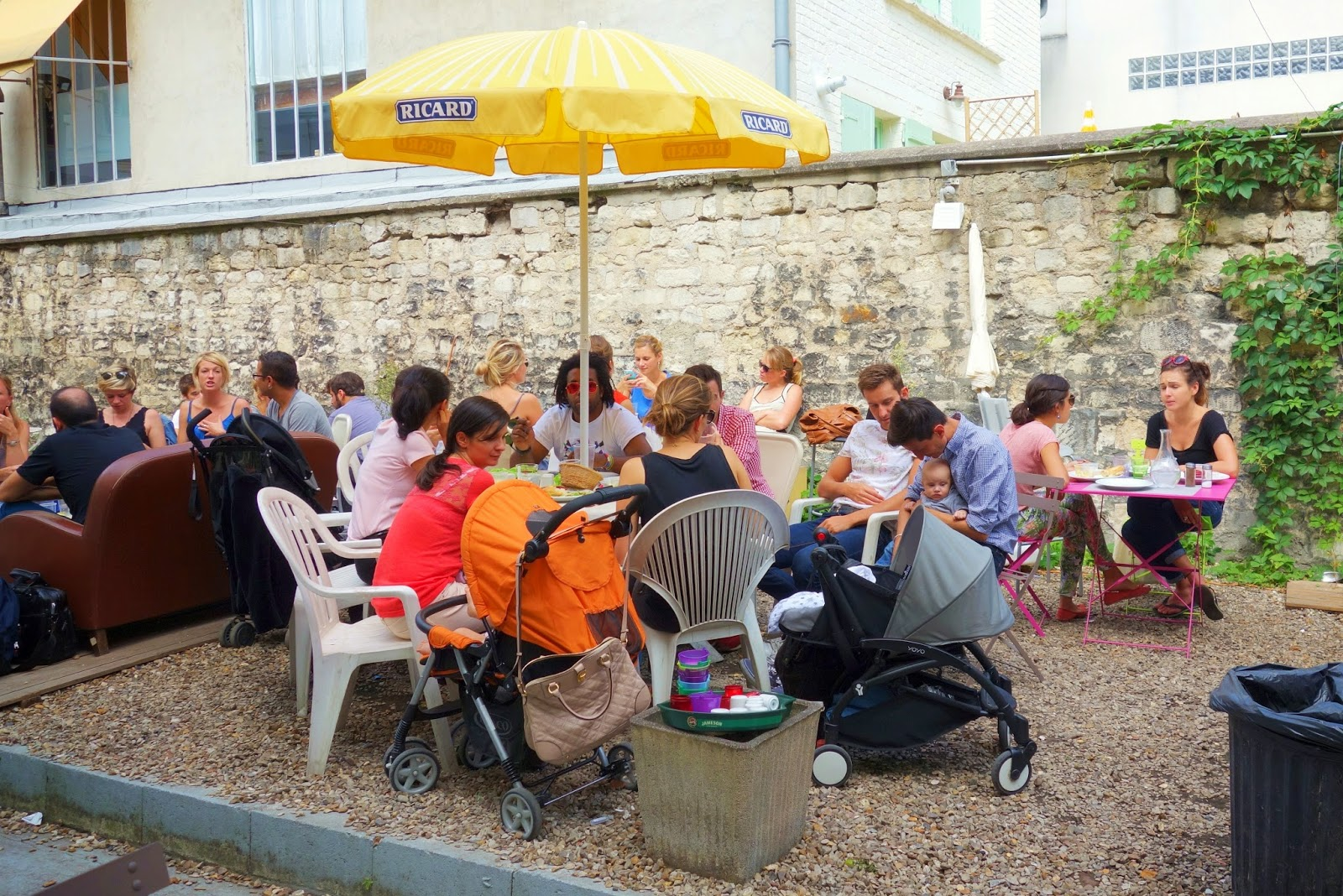 Mes adresses au fond du jardin un brunch champ tre 39 for Restaurant au jardin paris