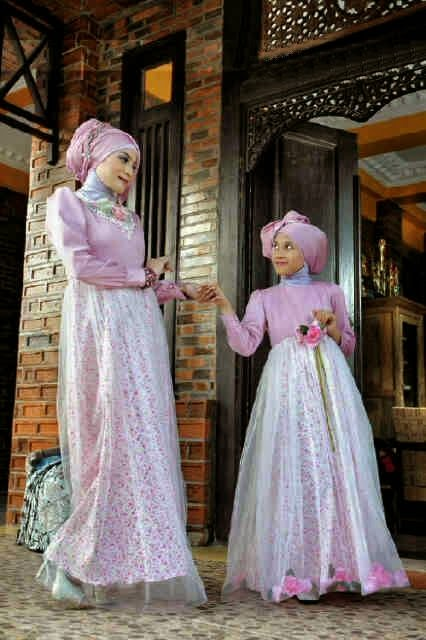 Model Baju Gaun Muslim Pesta Holidays Oo