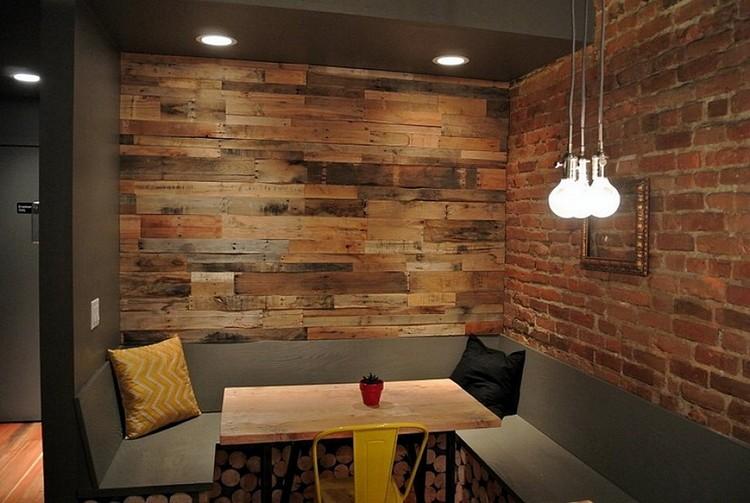 des id es d 39 objets et mur pour v tre salon avec des palettes photos du net id es et tuto de. Black Bedroom Furniture Sets. Home Design Ideas