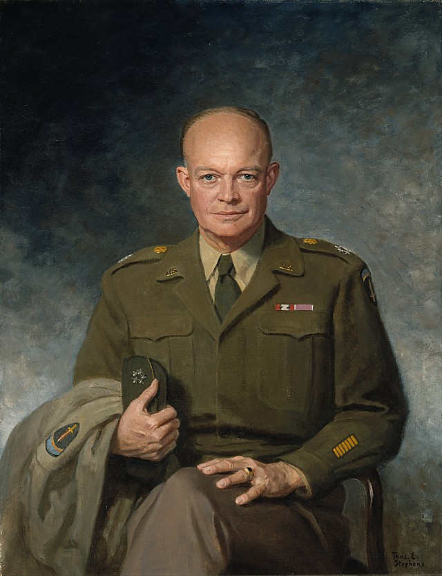 Art now and then dwight d eisenhower portraits general dwight d eisenhower 1947 thomas edgar stephens publicscrutiny Image collections