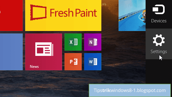 Cara Mengubah Warna Tampilan Start Screen Windows 8.1