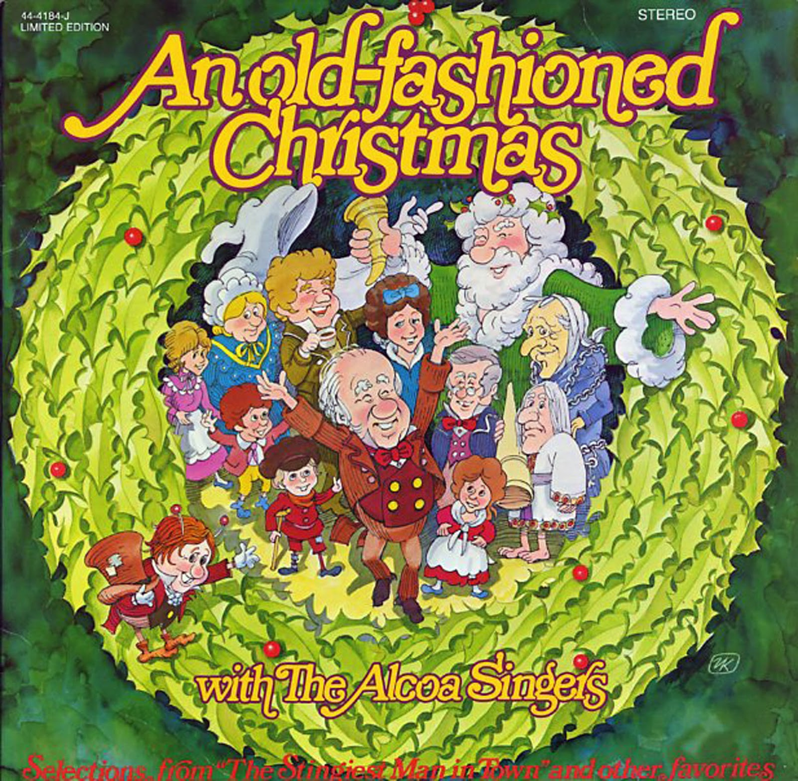 An Old-fashioned Christmas with The Alcoa Singers. 44-04184-J ...