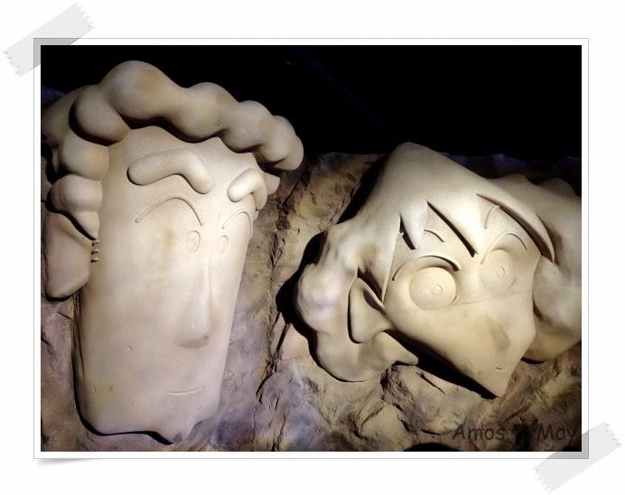 高雄景點駁二藝術特區-蠟筆小新春日部大冒險-野原廣志、野原美冴