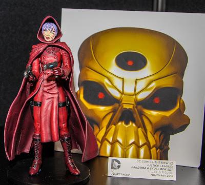 DC Collectibles New 52 Pandora & Skull 2-Pack figures