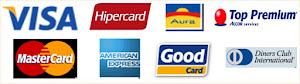 Aceitamos Todos os Cartões de Créditos