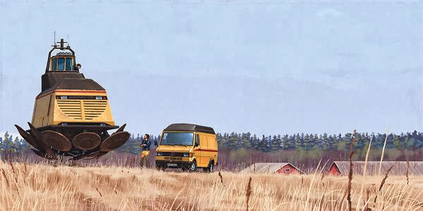 Stunning Paintings by Simon Stalenhag
