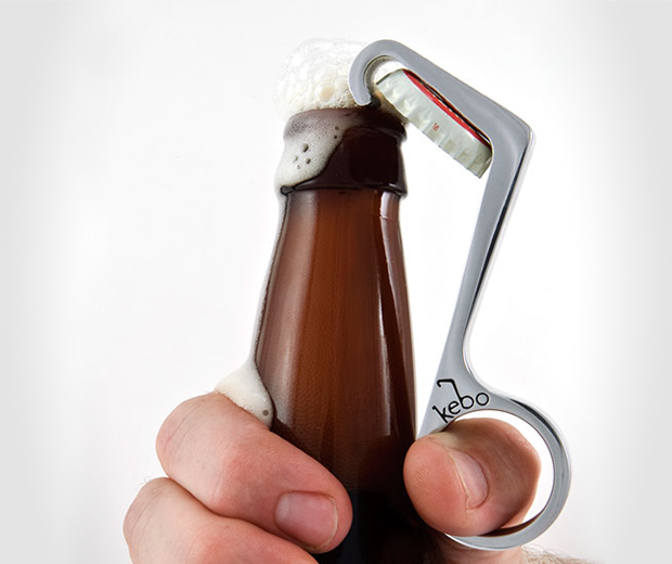 Kebo One-Handed Bottle Opener