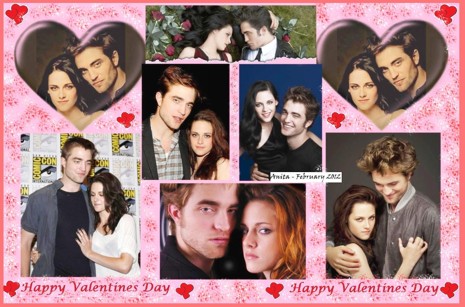 Happy Valentineu0027s Day Collages