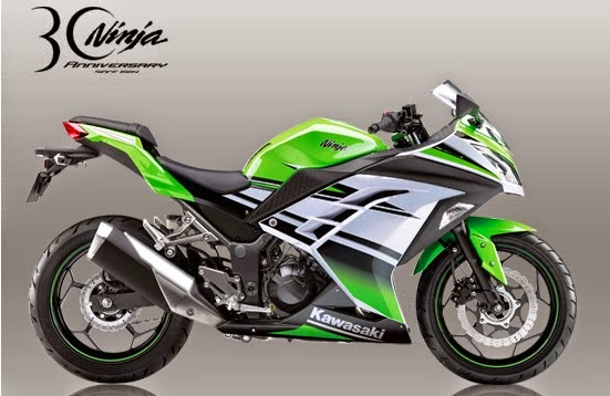 New Kawasaki Ninja 250 Special Edition ABS 30th
