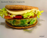 Sándwich Thins y tu imaginación