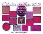 Calendar Of Hope 2013
