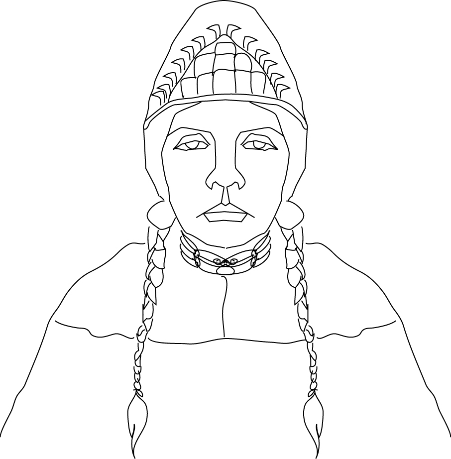 Native People Drawing Native American Face Drawing