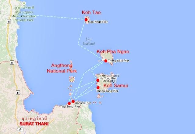 Mapa-islas-Surat-Thani