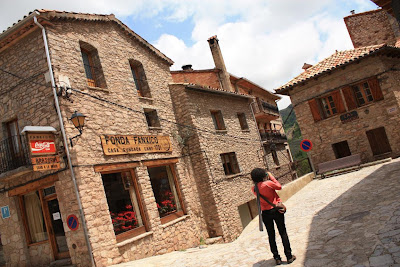 Medieval village of Castellar de N'Hug in the Pyrenees