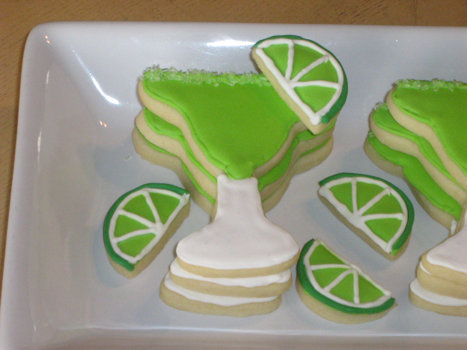 Janis Cooks: Margarita Cookies for Bunco