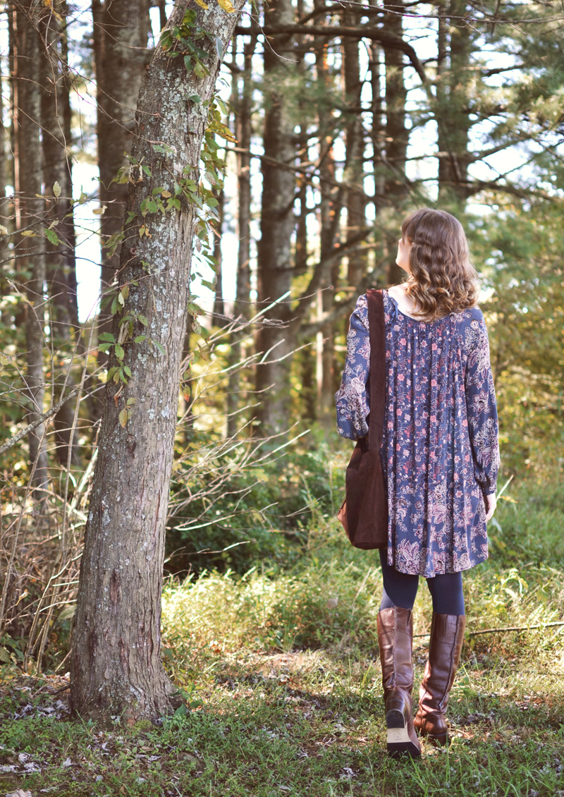 The Flying Clubhouse: Indigo | fall outfit