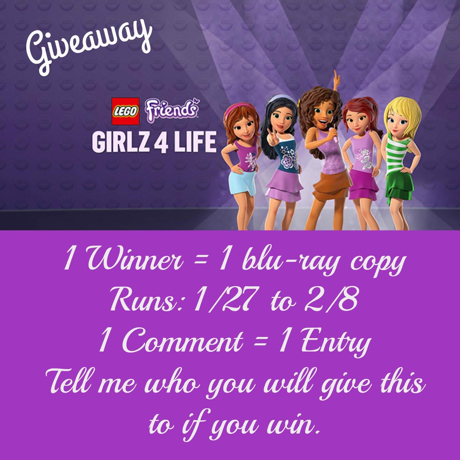 Debras Random Rambles Lego Friends Girlz 4 Life Giveaway