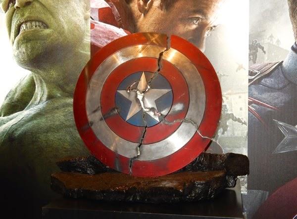 Avengers Age of Ultron Broken Captain America shield